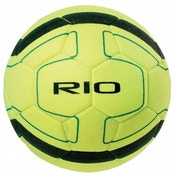 Precision Rio Indoor Football (Yellow/Black) Size 4