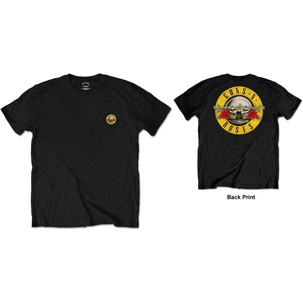 Guns N' Roses - Classic Logo Men's Small T-Shirt - Black