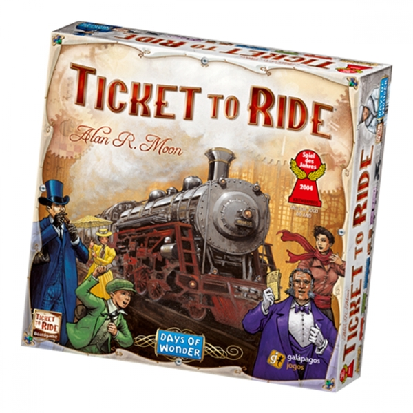 Image of Ticket to Ride Board Game