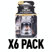 Black Coconut (Pack Of 6) Yankee Candle Ultimate Car Jar Air Freshener