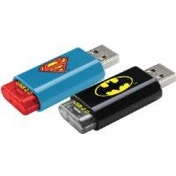 Emtec Super Heroes Superman & Batman USB2.0 8GB Flash Drive