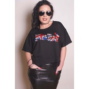 Judas Priest - Union Women's Large T-Shirt - Black