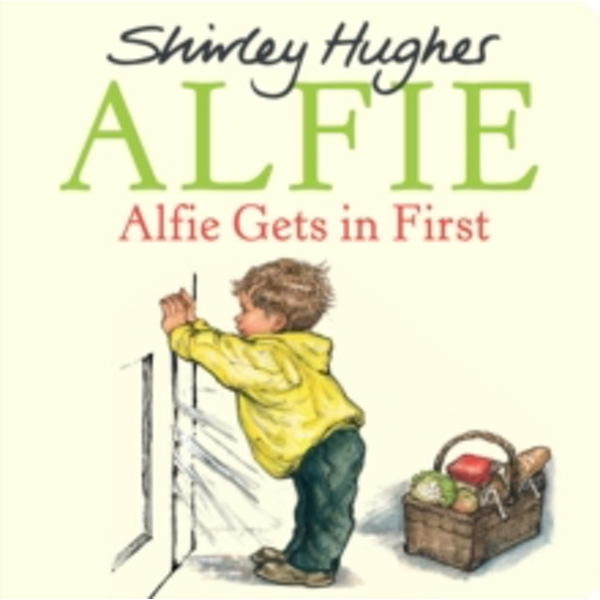 Alfie Gets in First Board book