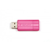 Verbatim PinStripe 32GB USB 2.0 Hot Pink