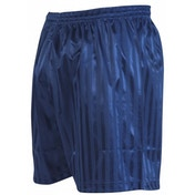Precision Striped Continental Football Shorts 38-40 inch Navy Blue