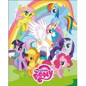 My Little Pony Group Mini Poster