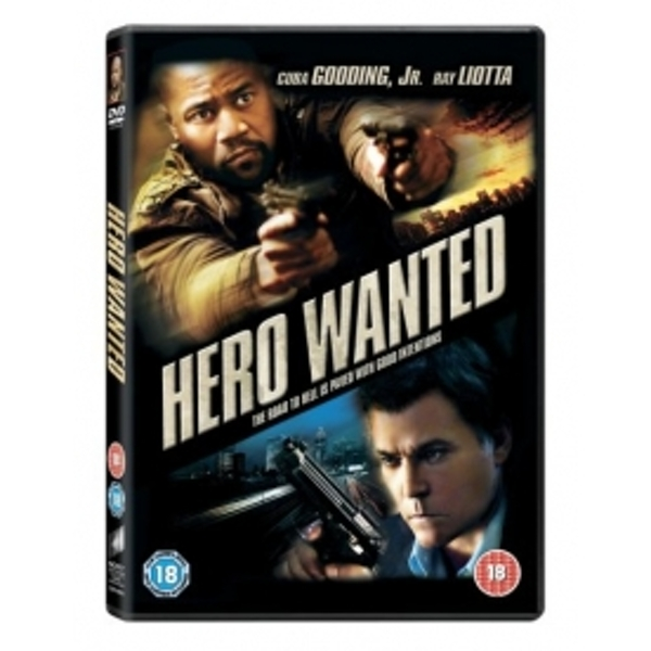 Hero Wanted DVD