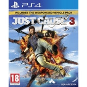 Just Cause 3 PS4 Game (with Weaponised Vehicle Pack + Capstone Bloodhound RPG)