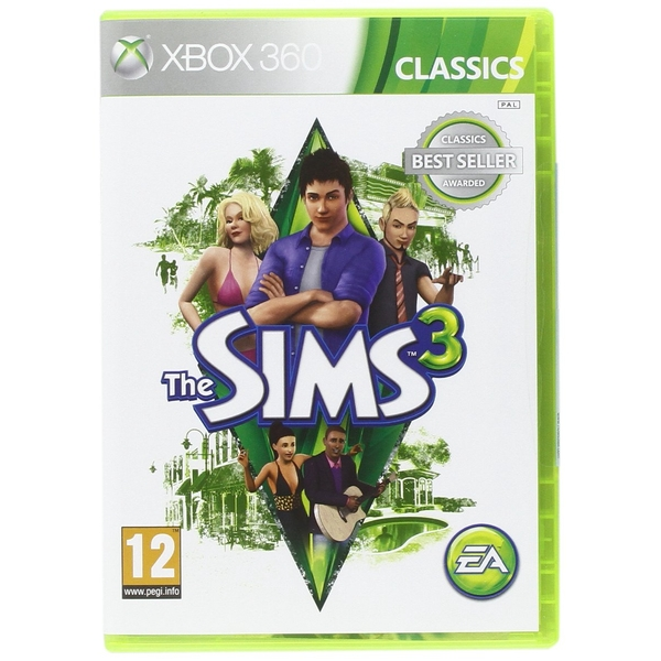 The Sims 3 Game (Classics) Xbox 360 [Used]