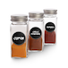 Spice Jars with Shaker Lids - Set of 12 | M&W - Image 5