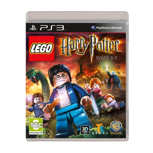 Lego Harry Potter Years 5-7 Game PS3
