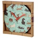 Catch Patch Dog Design Wall Clock - Image 3