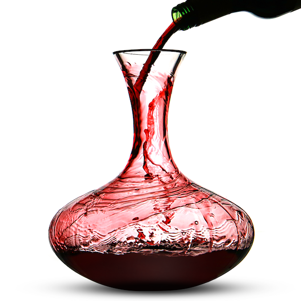 Red Wine Decanter & Magic Cleaning Balls   M&W