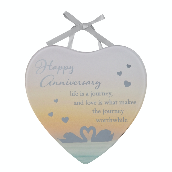 Reflections Of The Heart Mini Plaque Anniversary