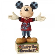You're The Greatest Dad Mickey Disney Traditions Figurine