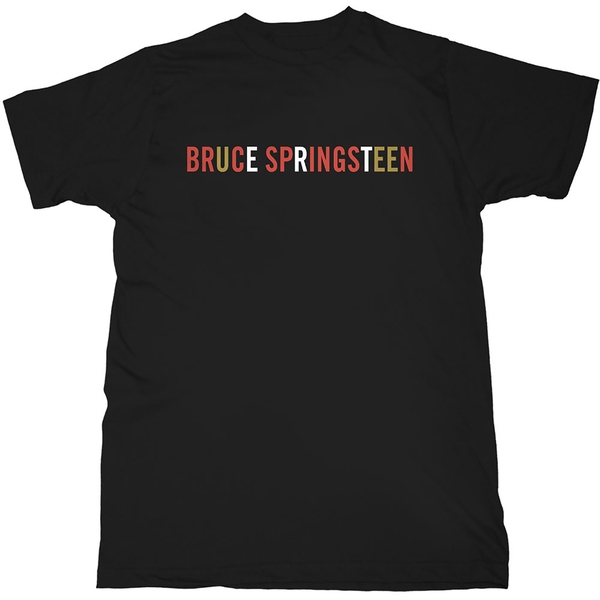 Bruce Springsteen - Logo Men's X-Large T-Shirt - Black