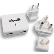 Worldwide Twin USB Travel Charger 3400mA
