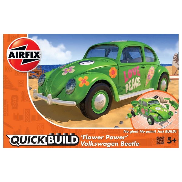 VW Beetle Flower Power Quickbuild Air Fix Model Kit