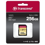 Transcend 256GB SDHC Class 10 UHS-I U3 Flash Card