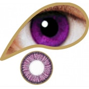 Violet 1 Day Coloured Contact Lenses (MesmerEyez Illusionz)