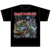 Iron Maiden Knebworth Moonbuggy Mens T Shirt: Medium