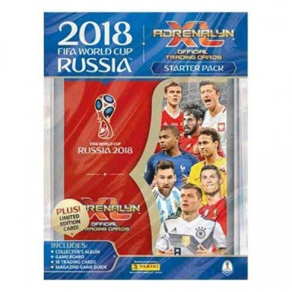 Ex-Display Panini FIFA World Cup 2018 Adrenalyn XL Starter Pack Used - Like New