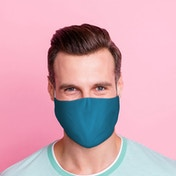 Blue Reusable Face Covering - Large