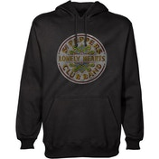 The Beatles - Sgt Pepper Unisex Small Pullover Hoodie - Black