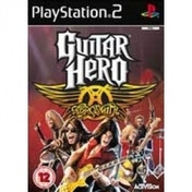 Ex-Display Guitar Hero Aerosmith (Solus) Game PS2 Used - Like New