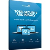 F-SECURE Total Security and Privacy 1year(s) Full license Multilingual FCFTBR1N005E1