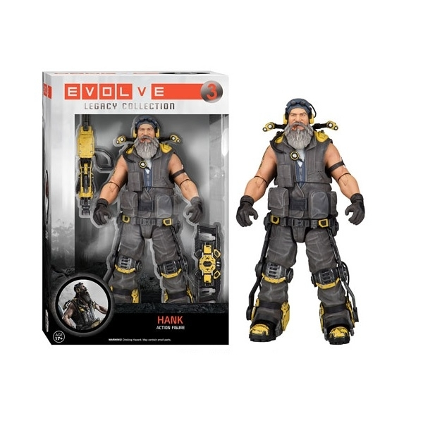 Hank (Evolve) Legacy Collection Action Figure