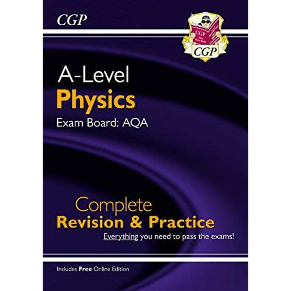 New A-Level Physics: AQA Year 1 & 2 Complete Revision & Practice with Online Edition  Paperback / softback 2018