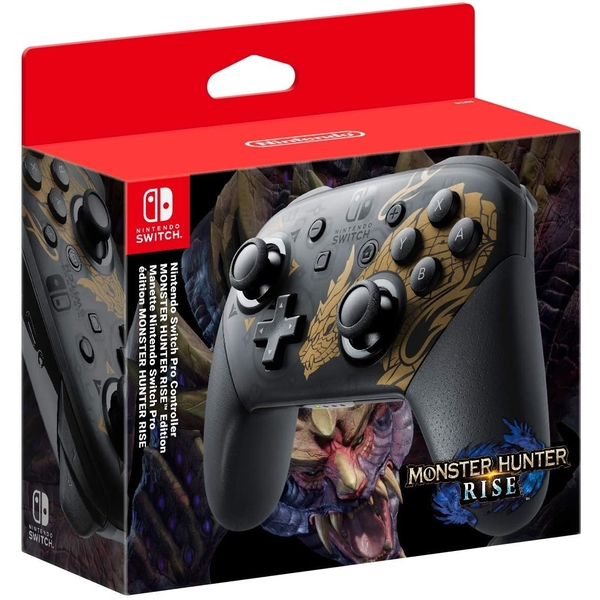 Monster Hunter Rise Edition Nintendo Switch Pro Controller