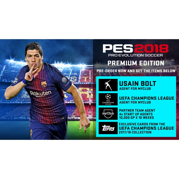 Pro Evolution Soccer 2018 Premium Edition PS3 Game