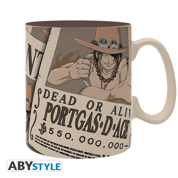 One Piece - Wanted Ace Mug