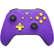 Xbox One S Controller - Purple Velvet & Gold