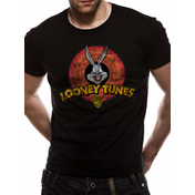 Looney Tunes - Logo Men's Medium T-Shirt - Black