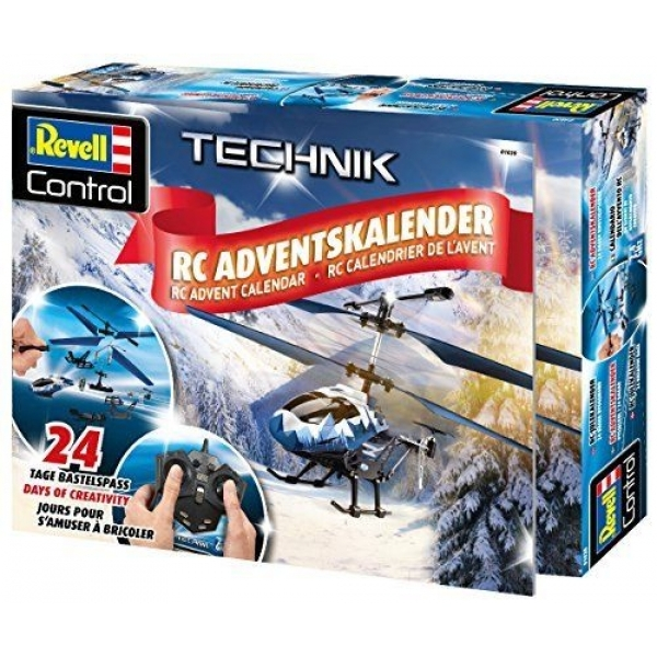 Ex-Display Revell RC Technik RC Helicopter Advent Calendar 2018 Used - Like New