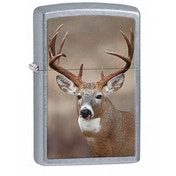 Zippo Deer Street Chrome Lighter