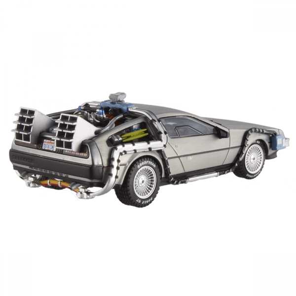 Hot Wheels 1:18 DeLorean Time Machine with Mr Fusion Diecast - Image 4