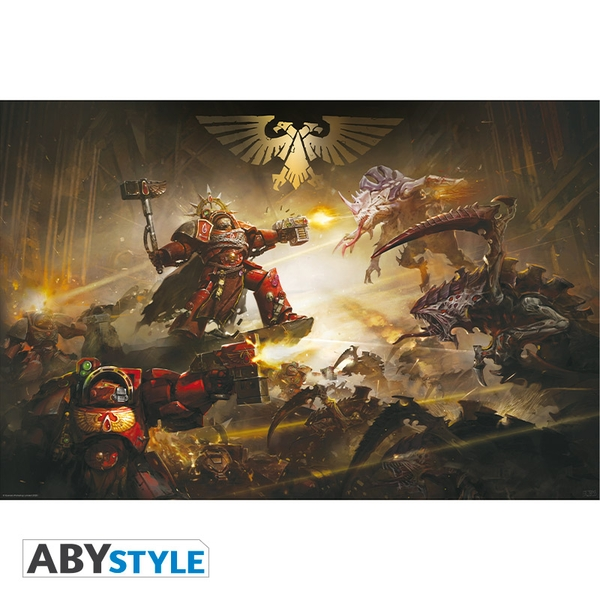 Warhammer 40K - The Battle Of Baal Poster (91.5X61)