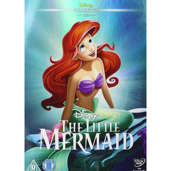 The Little Mermaid 1989 DVD