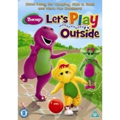 Barney Let's Play Outside DVD