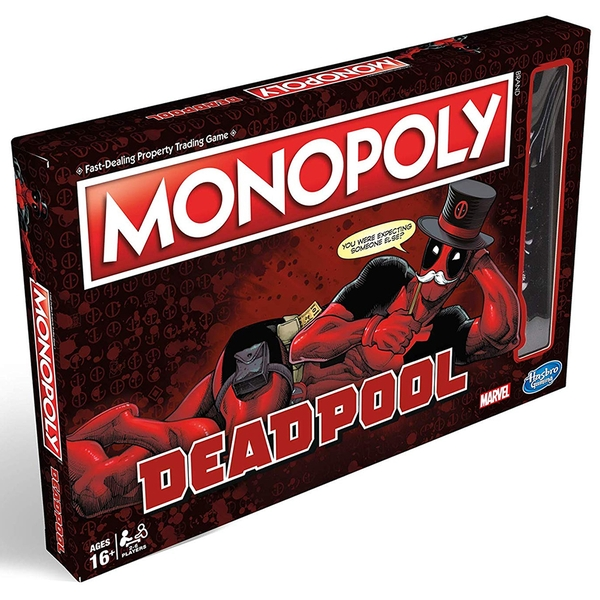 Image of Deadpool Monopoly Board Game