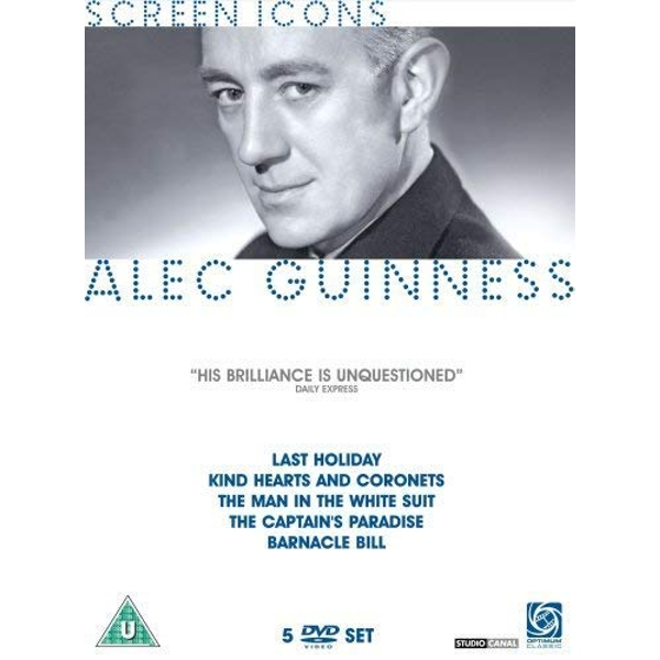 Alec Guinness - The Screen Icons Collection DVD 5-Disc Set