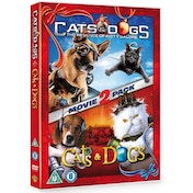 Cats and Dogs 1 and 2 DVD