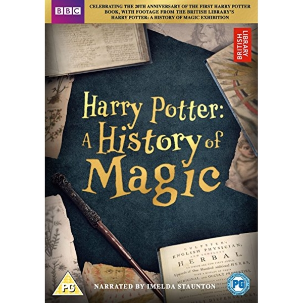 Harry Potter: A History of Magic DVD