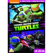 Teenage Mutant Ninja Turtles - React & Revenge! S3, V3 & V4 DVD