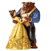 Disney Traditions Moonlight Waltz Belle and Beast (Beauty and the Beast) Figurine