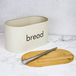 Kitchen Bread Bin with Bamboo Chopping Board Lid | M&W - Image 4